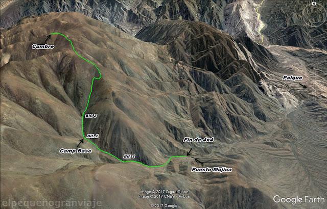 Tontal Norte, Sierra, cumbre, ascenso, trekking San Juan. diarios, ruta, camino, senda