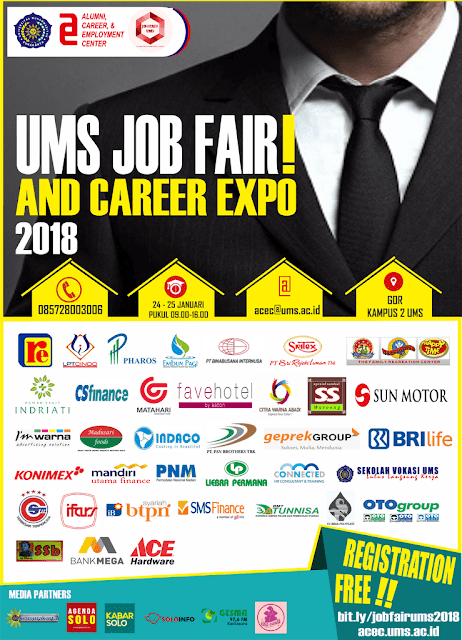 Jobfair UMS Surakarta Januari 2018