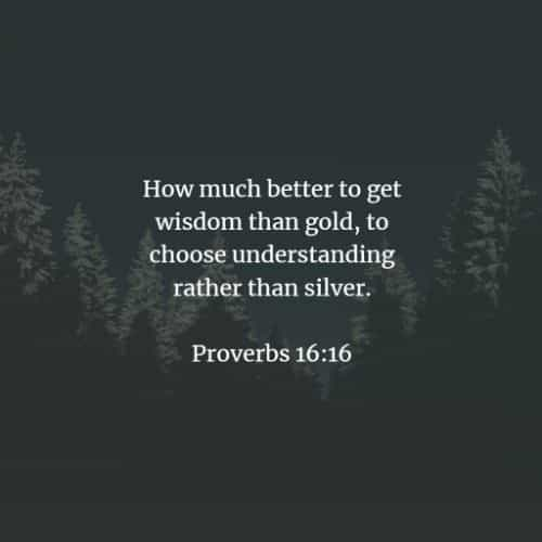 Bible verses and Bible quotes about wisdom