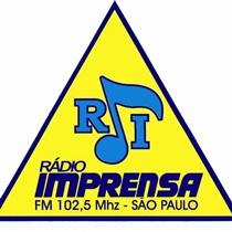 Ouvir agora Rádio Imprensa FM 102,5 - São Paulo / SP