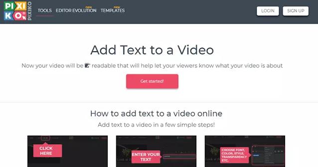 Cara Menambahkan Teks ke Video Secara Online-6