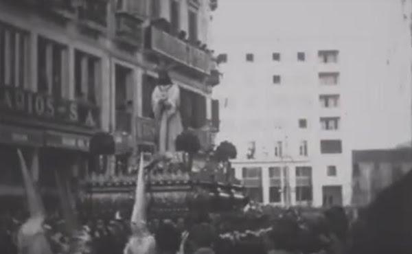 La Junta difunde imágenes poco conocidas de la Semana Santa en 1926 y 1952