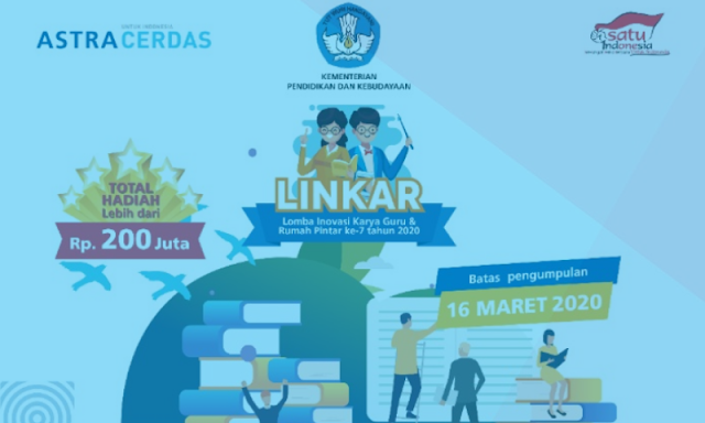 Info Lomba Inovasi Karya Guru dan Rumah Pintar (Lingkar) Tahun 2020