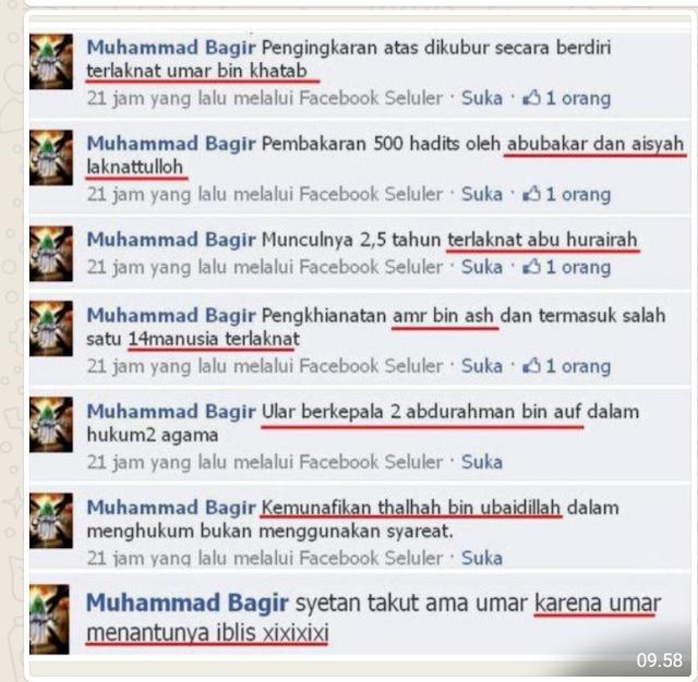 *Mulut Najis Syiah*