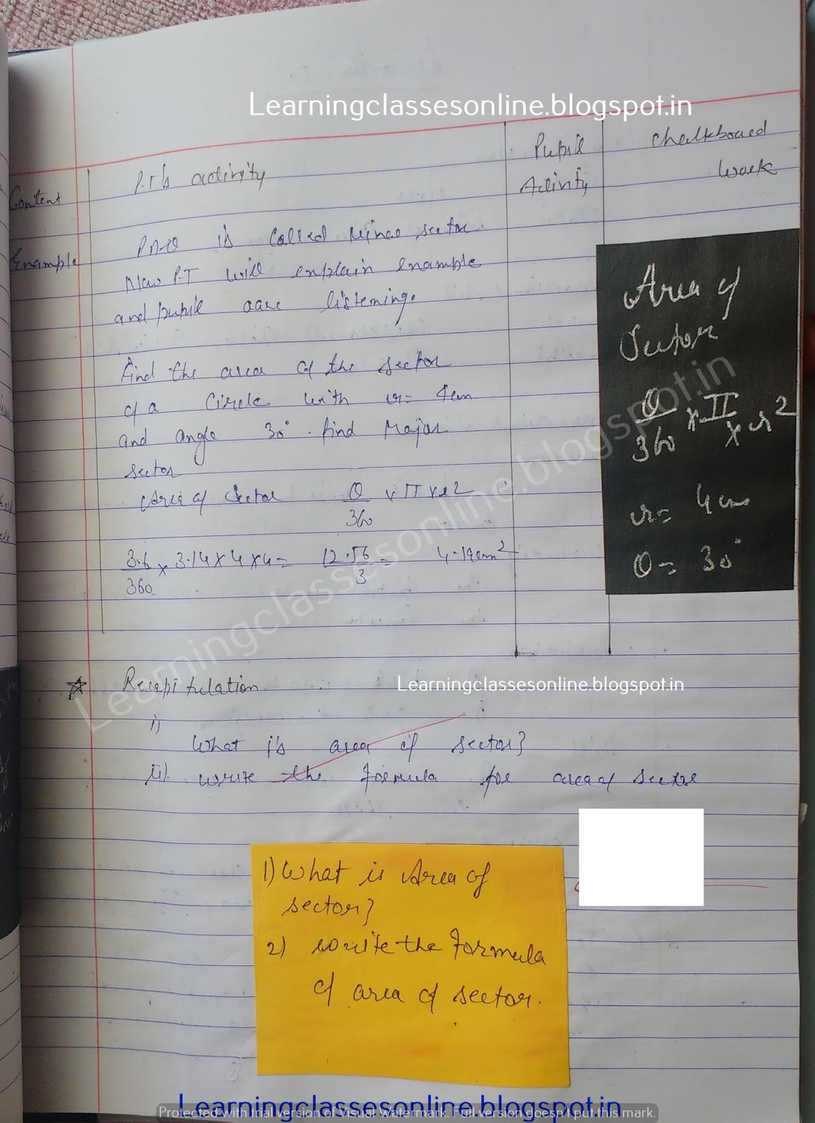 Sample Lesson Plan In Math Grade 8,