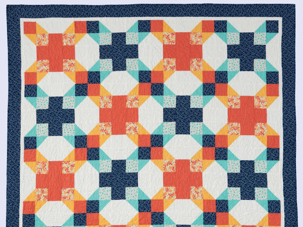 Tesela Quilt, Sail Away Quilt and MORE...