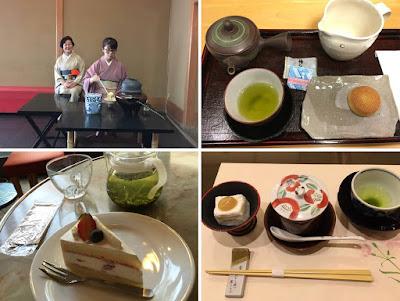 Ceremonia parzenia herbaty i sposób jej podanie w Japonii.
