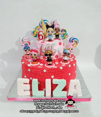 Kue Tart LOL Tingkat