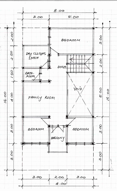 2nd floor plan of home image 09