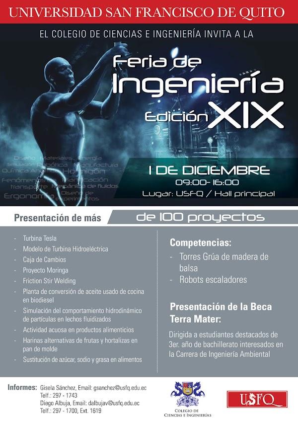 Feria de Ingeniería - Edición XIX