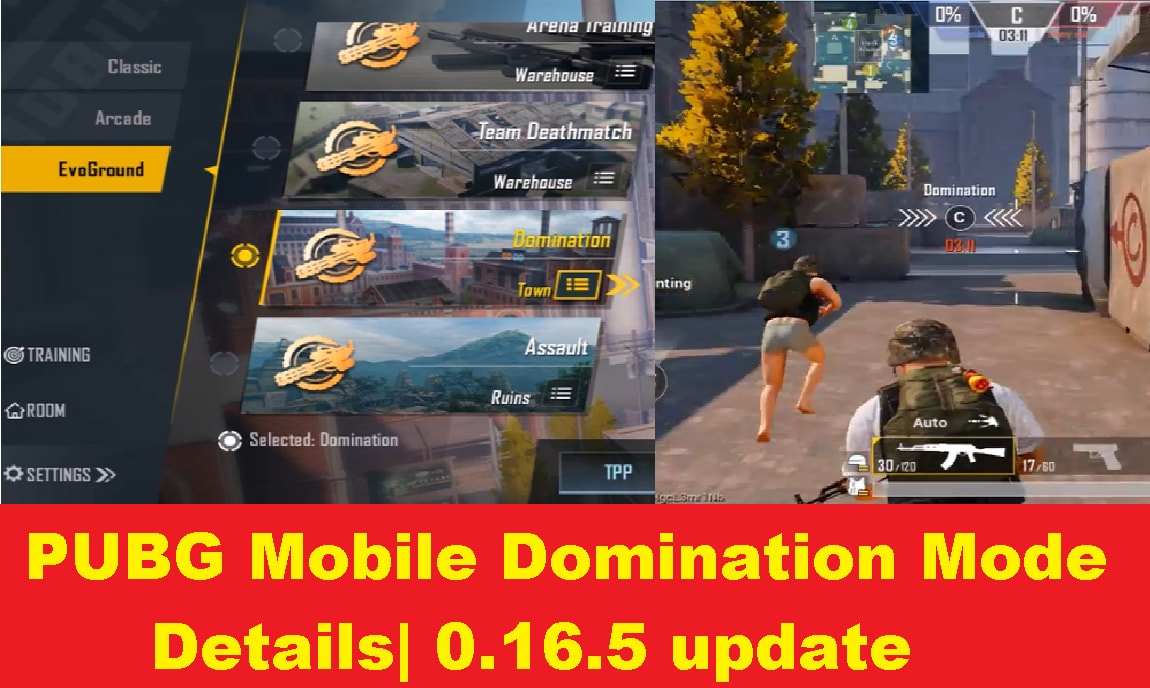 PUBG Mobile: New Domination Mode coming with 0.16.5 update| Details