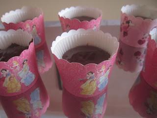 Mini moelleux au chocolat sans gluten avant cuisson