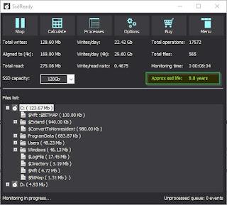 Saber tiempo de vida de tu SSD