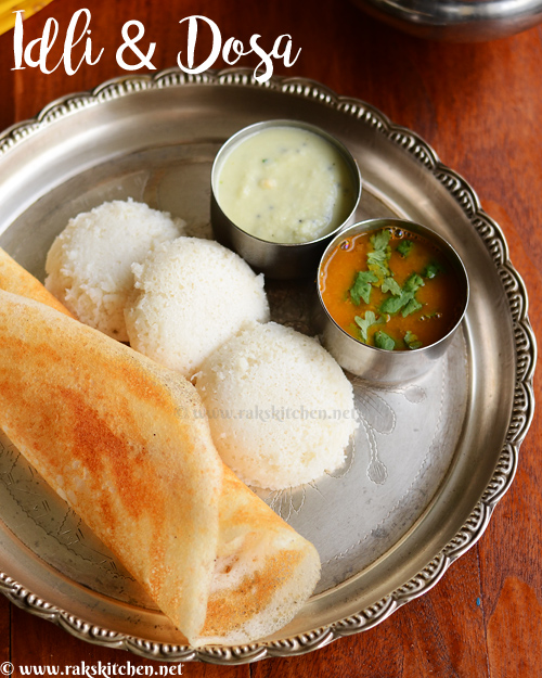 Idli dosa batter mixie, south Indian breakfast - Raks Kitchen
