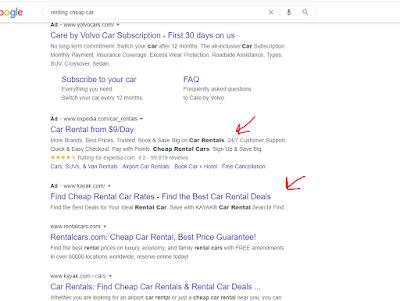 جودة الاعلان على جوجل