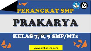 Download RPP 1 Lembar Prakarya SMP Kelas 7, 8, 9 Terbaru