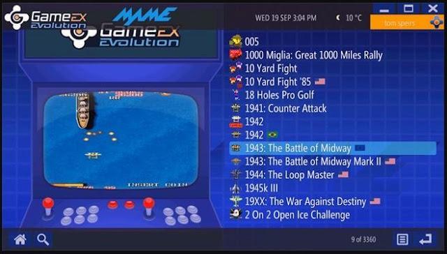 برنامج, محاكي, الالعاب, ومشغل, الالعاب, الحديثة, GameEx, النسخة, الأصلية