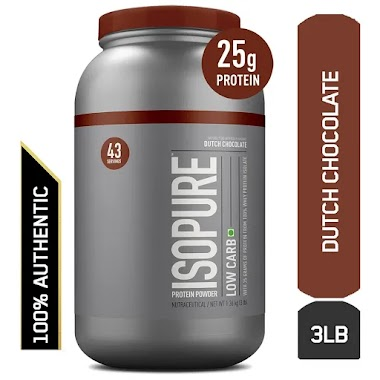 Isopure Low Carb, Dutch Chocolate, 3 lb