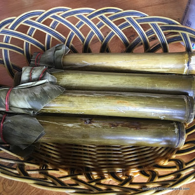 bamboo rice at Dageeli Tribe House Restaurant in Hualien, Taiwan