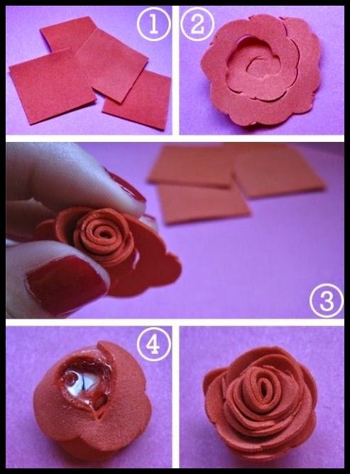 Cmo Hacer Flores De Goma Eva Cool Estos Son Los Materiales