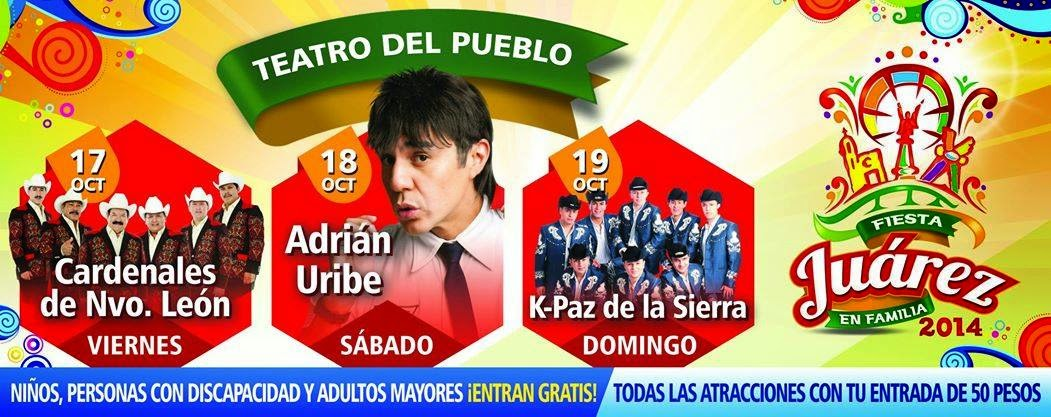 fiesta juarez 2014 teatro del pueblo