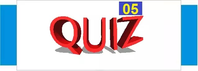 GK Question for Competitive Exam Quiz - 05