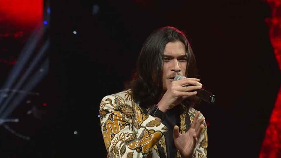 Virzha saat tampil di acara Salam Indonesia Harmoni yang digelar BNPT pada Minggu 14 Februari 2021 di TVRI. (Dok. Istimewa)