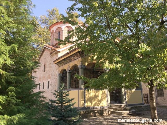 Iglesia San Nicolás Monasterio de Bachkovo Bulgaria