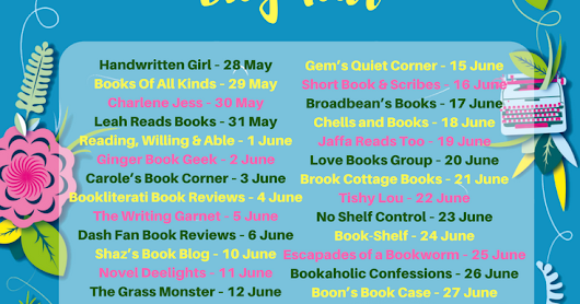 Blog Tour Stop - The Forgotten Guide to Happiness by Sophie Jenkins