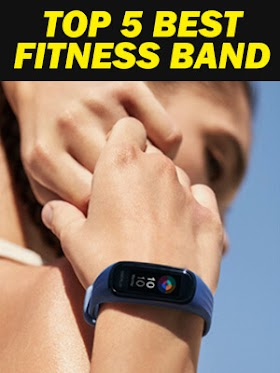 Top 5 Best Fitness Band Activity Trackers with Heart rate and Oxygen Monitor