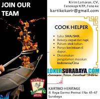 Bursa Kerja Surabaya di Kartiko Heritage Oktober 2020