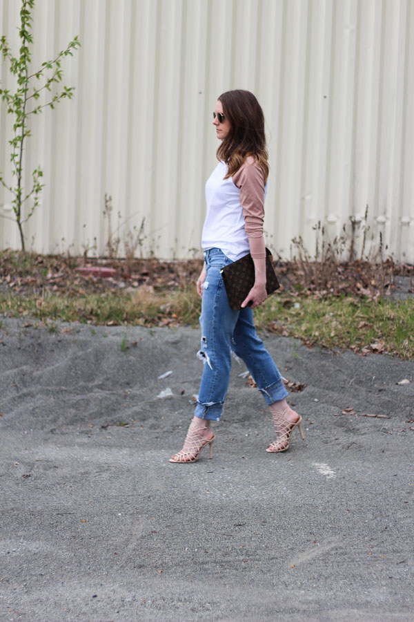 Mom style- jeans and heels