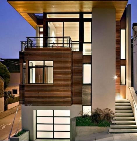 contoh desain rumah masa kini terbaru dan asri - metode