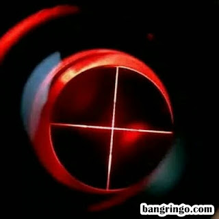 Reticle Mil Dot - Spike 3-12x40 AOL - Lampu merah-red