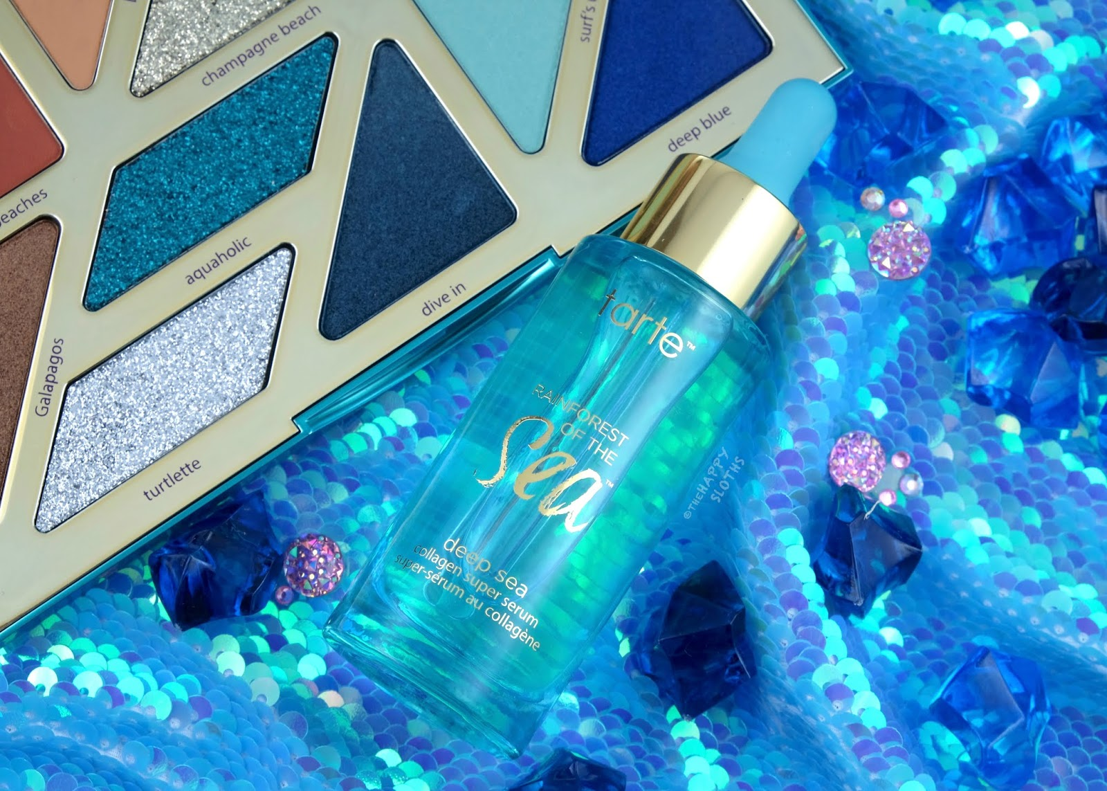 Tarte   Deep Sea Collagen Super Serum: Review and Swatches