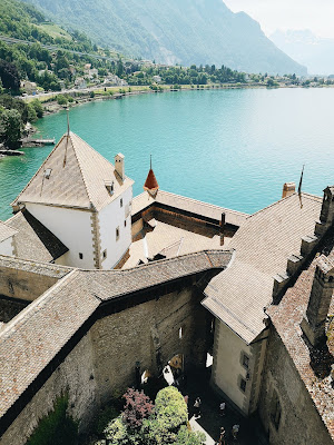 castillo de chillon suiza