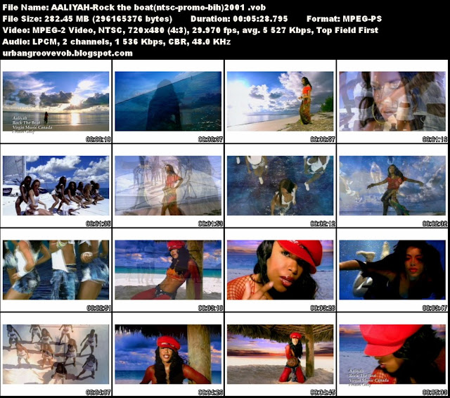 Urban Groove Vob Collection: Aaliyah - Rock The Boat (2001)
