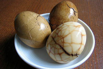 These Chinese tea eggs are authentic and tasty.
