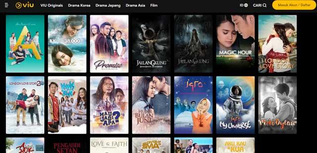 Viu Situs Nonton Film Indonesia