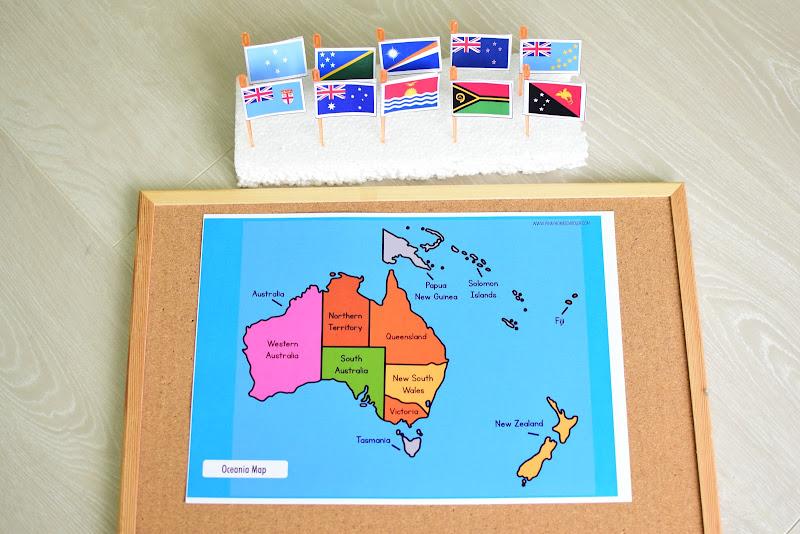 Oceania Australia in a Nutshell