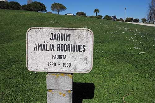 Jardim Amália Rodrigues, Lisbon.