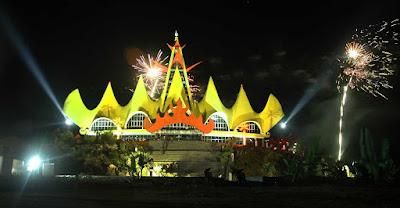 Menara Siger merupakan icon Provinsi Lampung