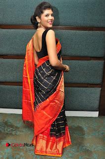 Model Sangeeta Kamath Pictures in Saree at Silk India Expo Curtain Raiser  0073.JPG
