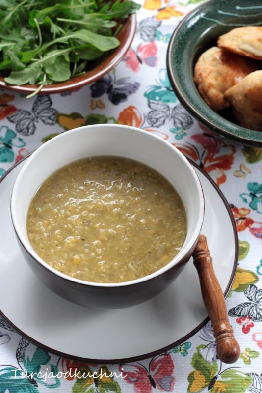 Libańńska zupa z soczewicy