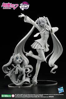 Hatsune Miku x MLP Bishoujo Concept Sculpt Revealed
