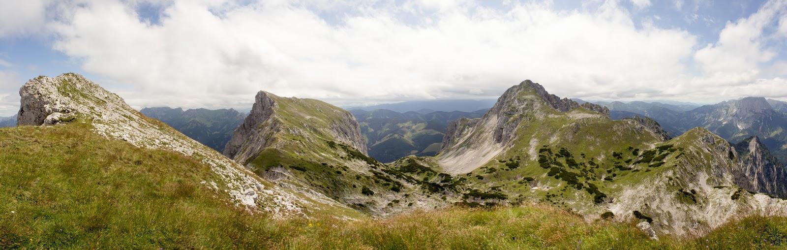 Bergtour - Wandertour - Rundtour übers Bärenloch zum Kaiserschild, Kaiserwart und Hochkogel - Gemeindealm Eisenerz - Eisenerzer Alpen