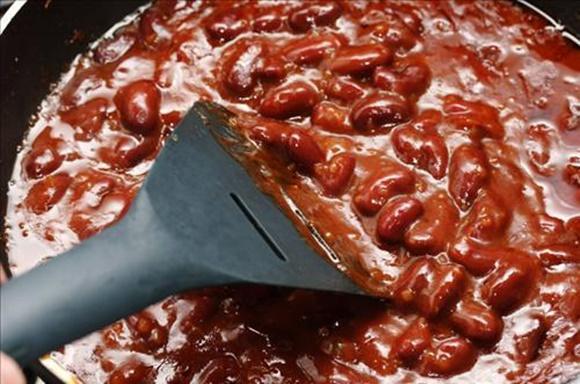Haricots Rouges Façon Chili Végétarien