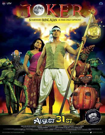 Poster Of Joker 2012 Hindi 720p HDRip ESubs Watch Online Free Download Worldfree4u