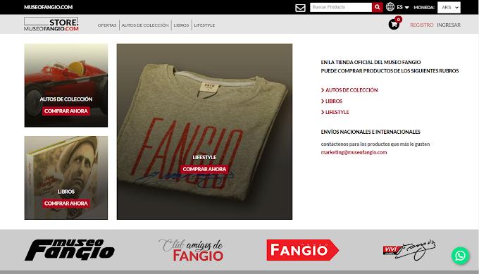 El Museo Fangio vende sus productos por delivery