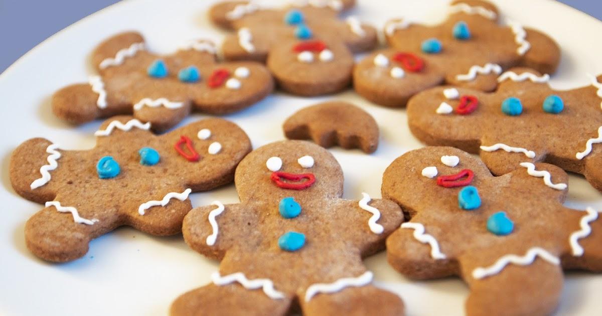 Pasteles Para Ser Feliz Hombrecitos De Jengibre Sacados De Un Pijama